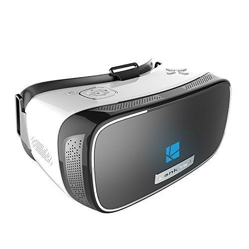 Virtual Reality Glasses 3D Headset PC 600 Degrees  HDMI USB Mini SD Android #Lenkewi