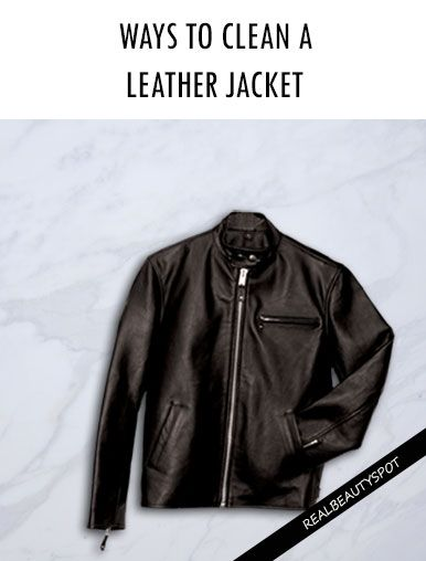 Ways to Clean a Leather Jacket