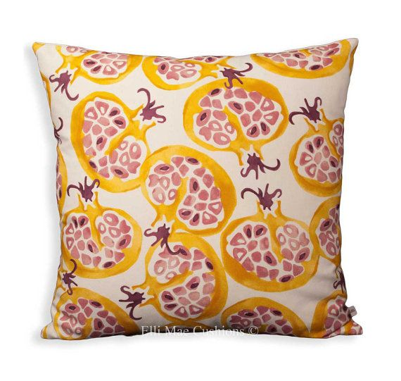 Professionally made cushion covers from Elli Mae Designer Cushions. These cushion covers are in Sanderson (Emma Bridgewater) \