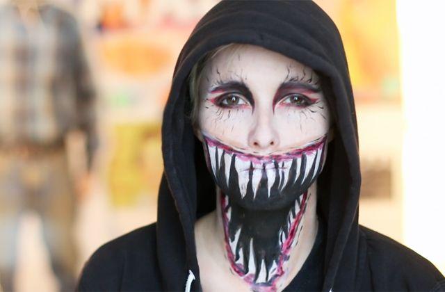 Pour un Halloween très « brrrr » , Cy. te propose d'apprendre à réaliser une gueule de monstre inspirée de Venom !