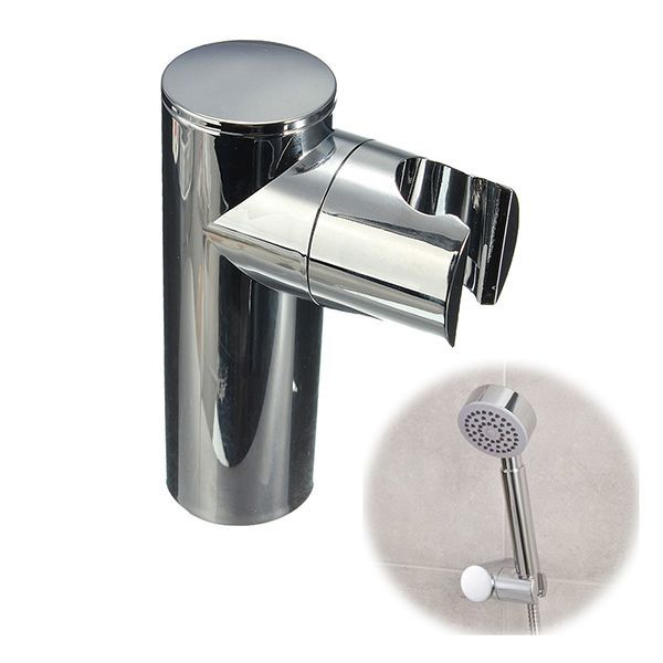 Shower Head Holder Bracket Bathroom Wall Mounted Hand Hanger #ShowerHeads