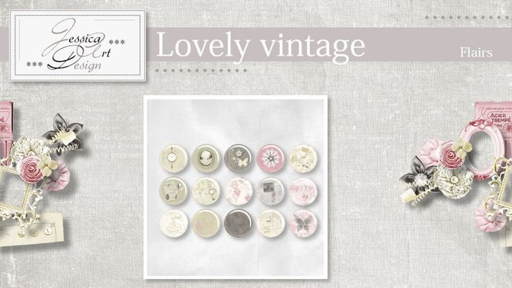 Lovely vintage flairs by Jessica art-design