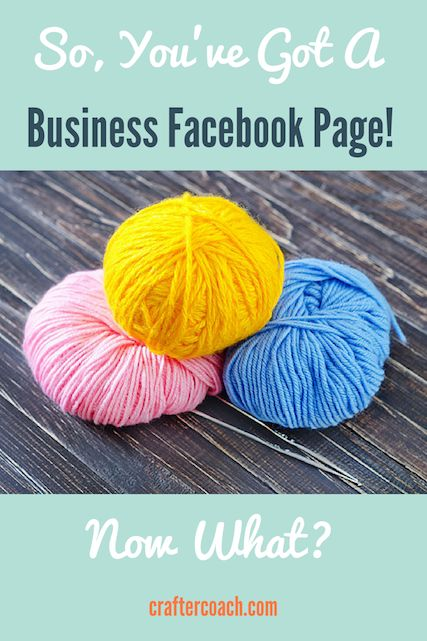 In this week's Crafter Q&A I answer the question How do I Use My Facebook Page To Promote My Business? You can listen to the episode right here...