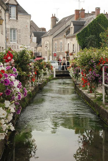 Beaugency, Loire Valley, France #travel