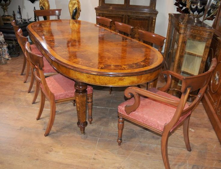 29 best victorian dining sets images on pinterest victorian dining photo of victorian dining table william iv chairs set walnut workwithnaturefo
