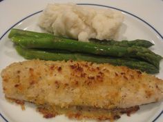 I have been pondering how to make another new baked Basa fish dish and this recipe is a winner with my family. The fish is spread with a creamy mayonnaise based sauce that includes freshly grated P…