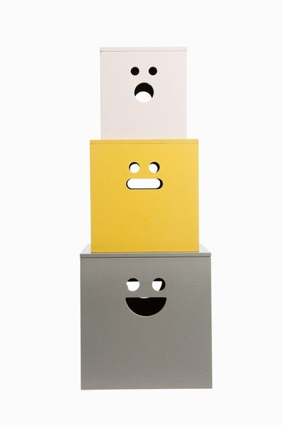 seriously adorable!... Ferm Living Shop — Face (Painted) Boxes