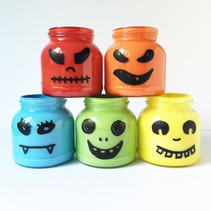 Des pots effrayants !
