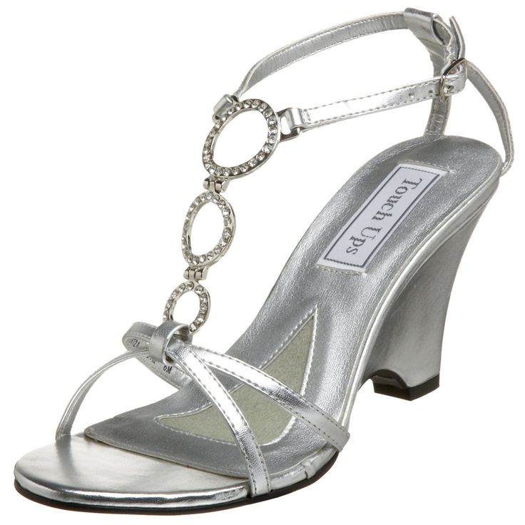 1000  ideas about Silver Wedge Shoes on Pinterest | Silver wedges ...