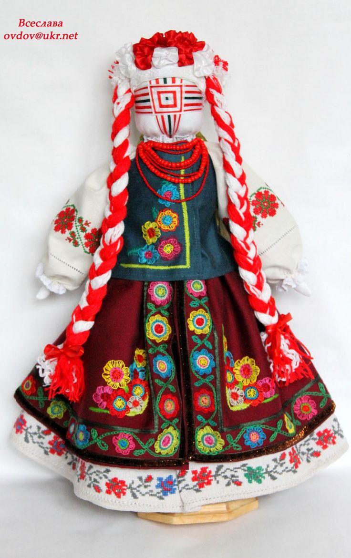 """Українська народна лялька """"Мілана"""" розмір 27х46см  #лялькамотанка  #україна…"""