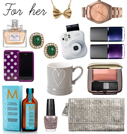 Go Give: check out our holiday shopping guide for the ladies on your list.