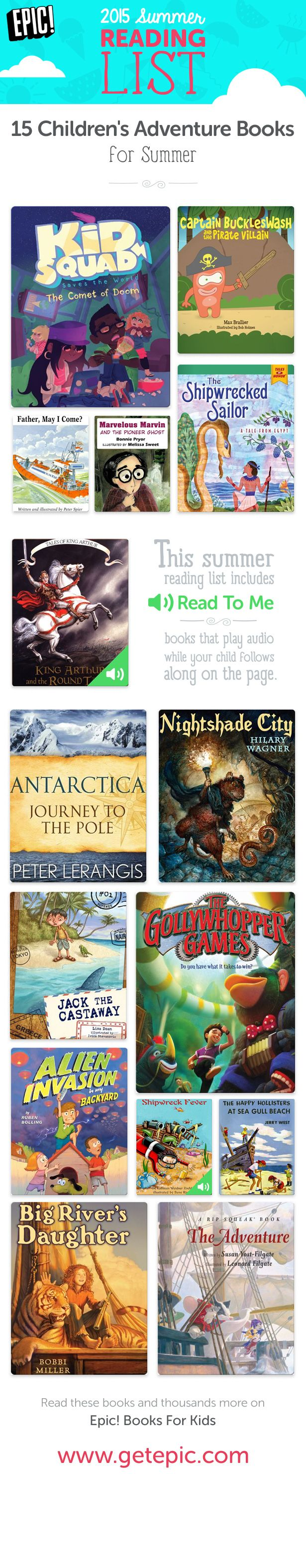Check Out 15 Of Our Favorite Summer Reading Books Full Of Adventure! You  Can Find