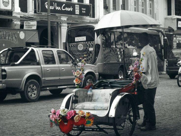 Trishaw at Penang