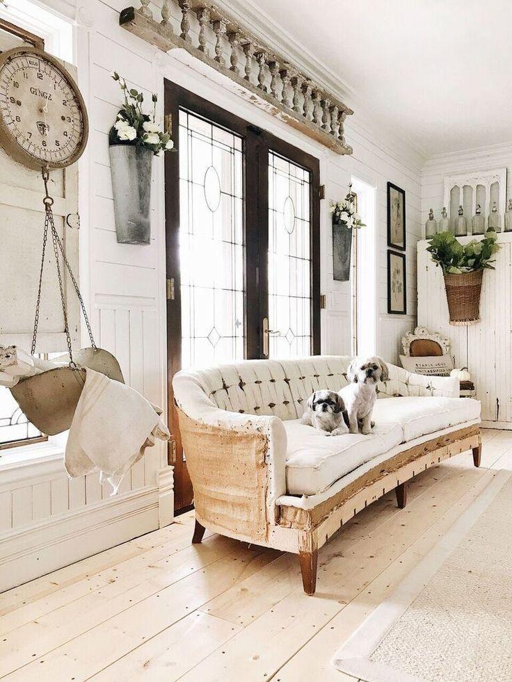 32+ Gorgeous Farmhouse Living Room Decor Ideas for Your Home House