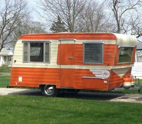 "Travel Trailers With Outdoor Kitchens: Vintage-trailer: "" Aljo """