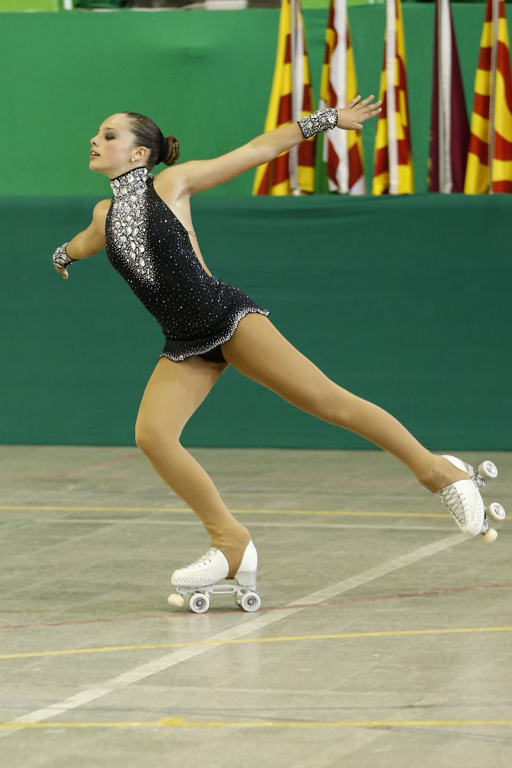 LIDIA PUJOL ANGLADA, Figure Skating Dress inspiration for AXELARTISTIC designs with Swarovski elements.