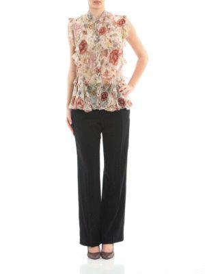 Alexander Mcqueen: online Camicie - Camicia floreale in seta