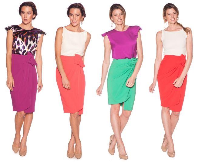 falda para invitada de boda de alquiler en www.lamasmona.com