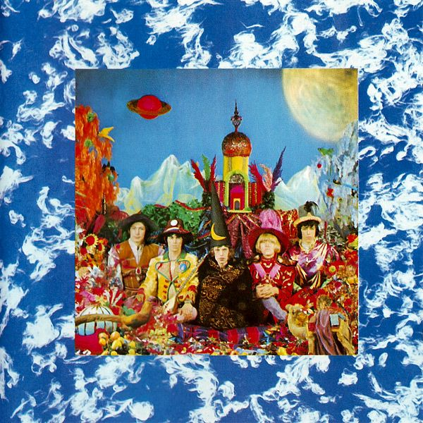 """""""Their Satanic Majesties Request"""" is the sixth British and eighth American studio album by The #RollingStones.  It was released in 1967 & included string arrangements by Led Zeppelin's John Paul Jones and the tracks """"She's A Rainbow"""" & """"2000 Light Years from Home""""."""