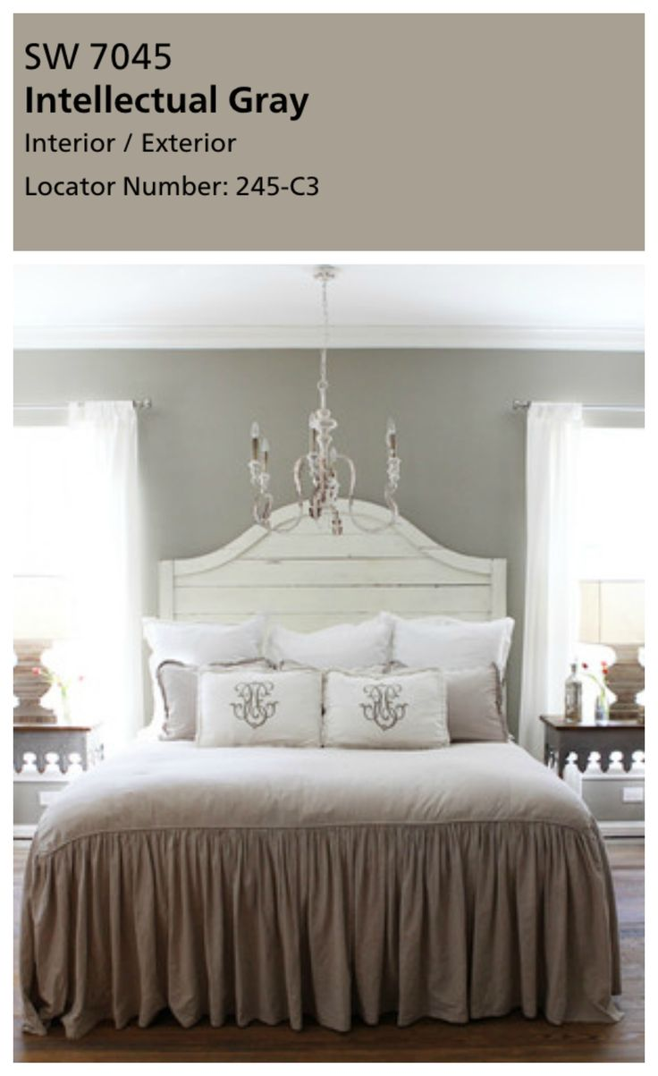 17 best ideas about intellectual gray on pinterest alabaster color hgtv paint colors and - Best gray paint colors for bedroom ...