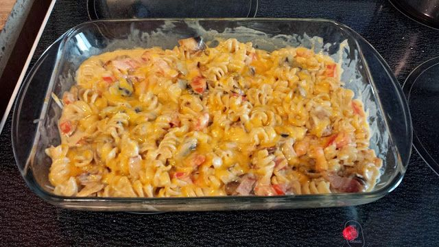 Baked Chipotle Bacon Penne knock off! Super tasty and easy!