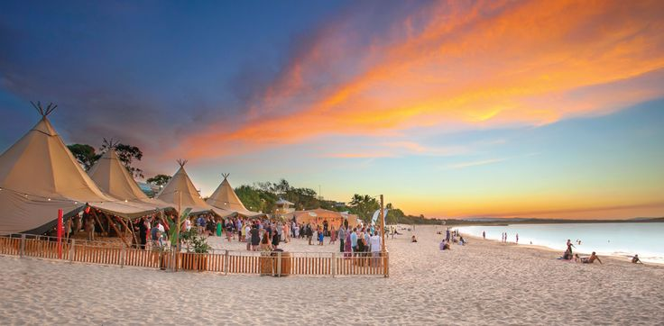 Noosa Food and Wine Festival 2017  Beautiful locations and venues to enjoy the culinary skills of some of Australia' s best chefs make this year's event so special with the choice of beach, river, hinterland and select Noosa restaurants.   For a taste of what to anticipate enjoy the  http://bit.ly/2qvI3h8 youtube link. Guest chefs are in town along with 40 of Australia's best wine makers.  The beautiful Noosa Woods area of Hastings Street  has been transformed into a Wine and Produce Village…