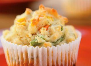 Muffin de legumes