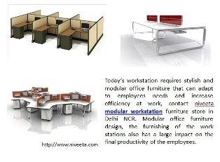 Contact Niveeta Modular Workstation Furniture Store In Delhi NCR Office Design