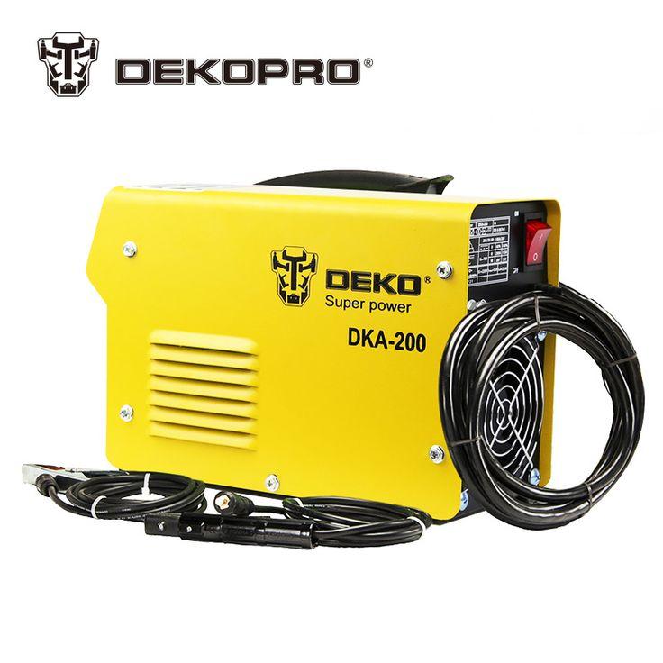 Compare Price DEKOPRO DKA-120 800W 120A 21S IP AC Arc Electric Welding Machine MMA Welder for Welding Working and Electric Working #DEKOPRO #DKA-120 #800W #120A #Electric #Welding #Machine #Welder #Working