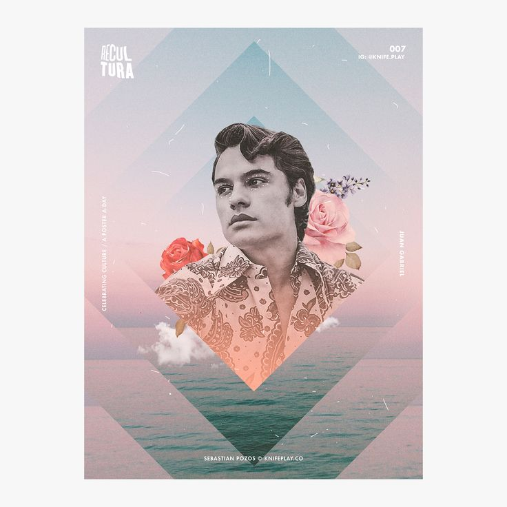 Juan Gabriel - Recultura 007 / Recultura is an art experiment celebrating the beauty of latin culture & the amazing people who are a part of it. Project Tags: #poster #daily #everyday #arte #recultura #cultura #mexican #cuban #latin #hispanic #music #juan #gabriel #juanga #divo #juarez