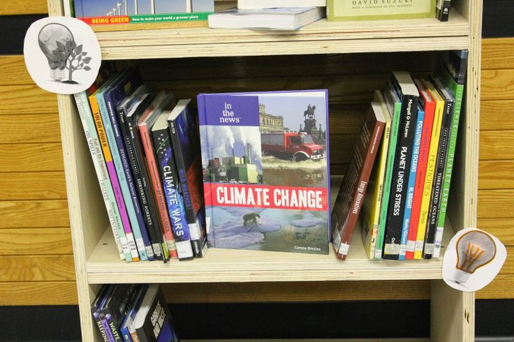 More books on the environment.
