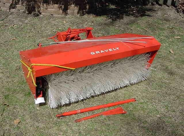 Tractor Rotary Broom For Garden : Best my gravelys images on pinterest tractors lawn