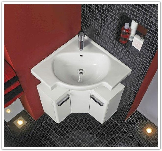 1000 Ideas About Corner Bathroom Vanity On Pinterest