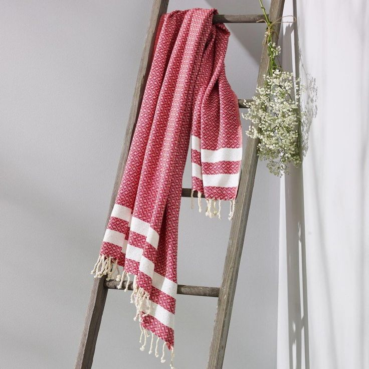 Collective Sol Turkish Towel - Bronte Ruby Red