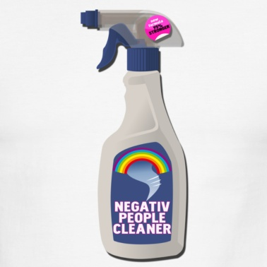 Ever wish you had some negative people cleaner?