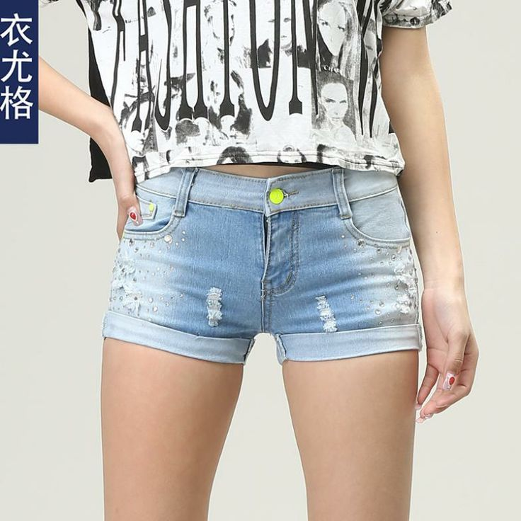 New Arrival2014 Sexy Skinny Shorts Women Brand Denim Shorts Ladies ...
