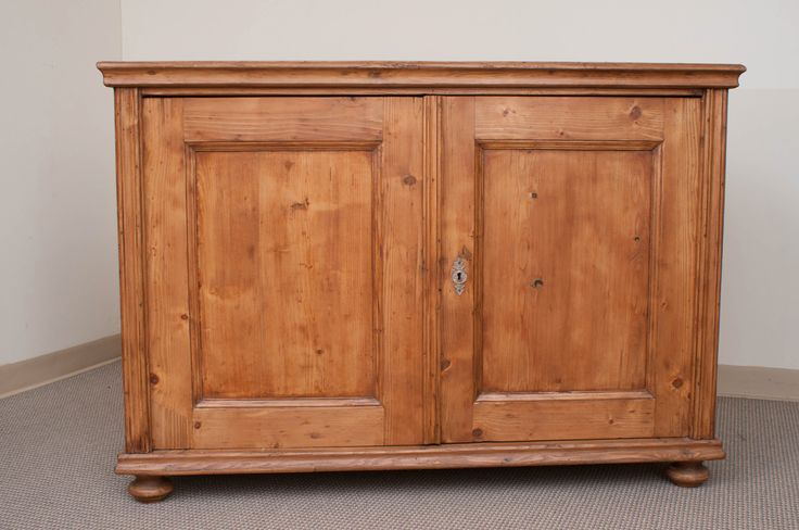 Pine Dresser Base | From a unique collection of antique and modern buffets at https://www.1stdibs.com/furniture/storage-case-pieces/buffets/