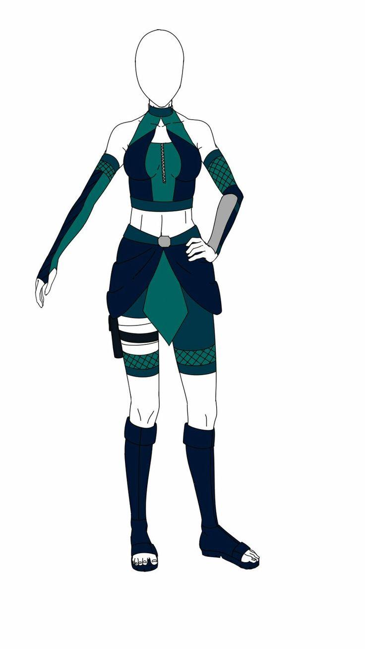 Anime Ninja Outfits