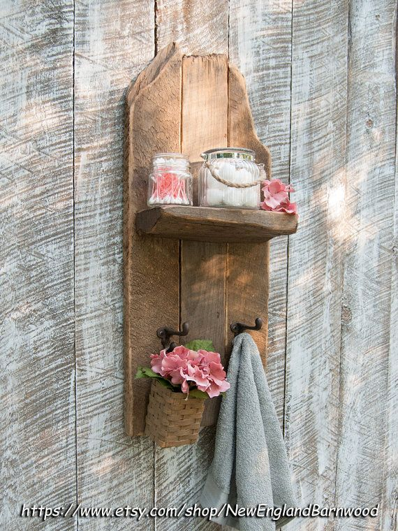CAPA rústica estante pared decoración de por NewEnglandBarnwood