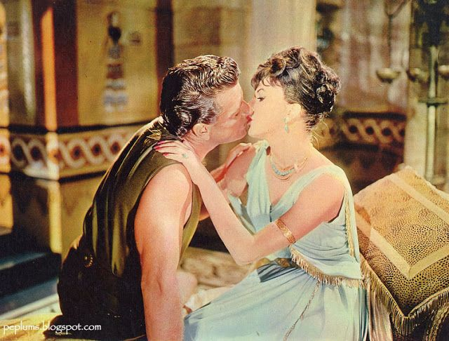 Richard Egan & Joan Collins in Esther and the King
