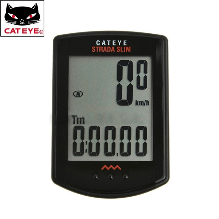 46.67$  Buy now - http://ali587.worldwells.pw/go.php?t=32787542658 - CATEYE Cycling Computer Wireless Digital Odometer Speedometer Bike Computer Odometer High Quality 3 Colors 46.67$