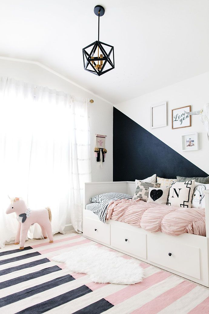 Bedroom Design Ideas Pink best 25+ pink girl rooms ideas only on pinterest | pink girls