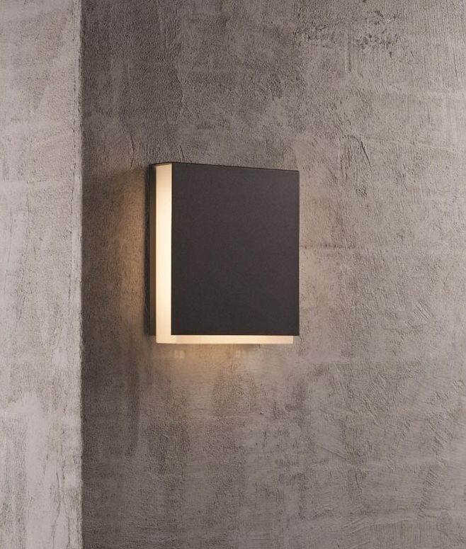 Outdoor Led Ip44 Square Wall Light In 2019 Led Outdoor