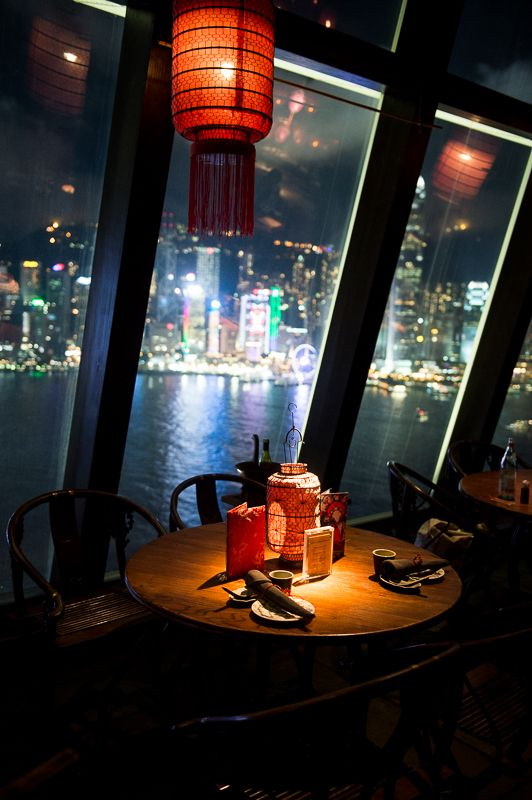 Ask for a table by the window, obviously. (Hutong)