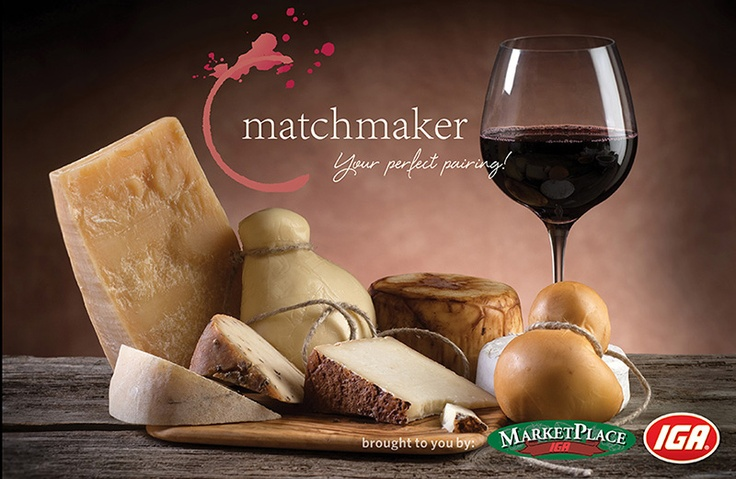 Find the perfect match between food and wine - brought to you by MarketPlace IGA and FreeHouse Wines