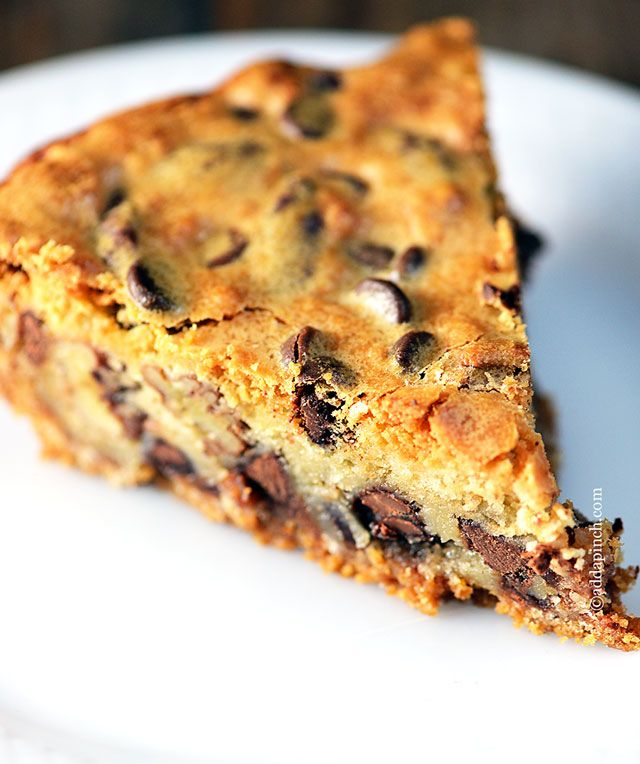 KK's Chocolate Chip Cookie Pie | Recipe