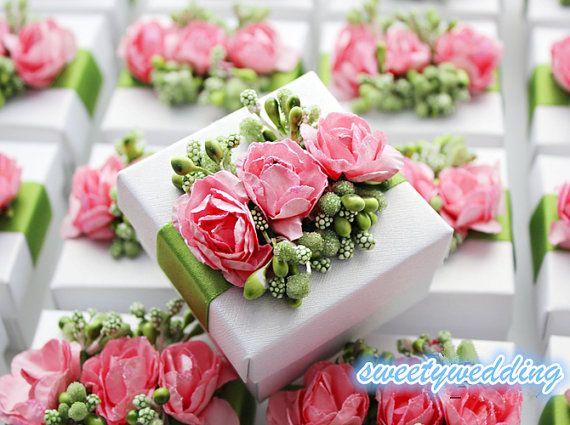 Wedding Favor boxCandy Box gift boxwhite box with by sweetywedding, $1.99