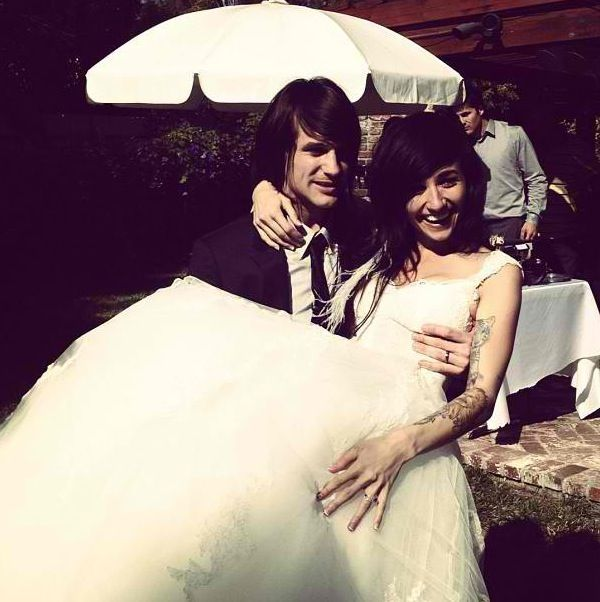 Lights And Beau Bokan wedding photo!