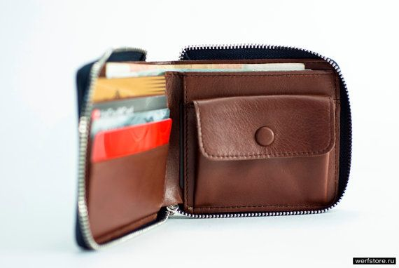 Zipper Arctic - travel All Around Zip wallet with pocket for credit card, coin and bank notes. Very convenience and functional for small size.  Dimensions closed : 10 х 9 х 1,5 см  Quality, functionality and original design – these are three main criteria of our brand. We are seamen and ocean is what inspires us to originate our inimitable products. To make Werf accessories we use only high- grade and checked materials. Every piece in our collection is handcrafted by creative experienced…