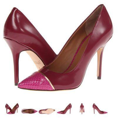 Pantofi stiletto din piele naturala by Rachel Roy Alessa4 roz cu visiniu. Detalii aici http://thankyou.ws/pantofi-stiletto-din-piele-naturala-alege-calitatea #pantofisenzationali  #pantoficutocstiletto #pantofidinpielenaturala #pantofistilettopielenaturala #RachelRoy #Alessa4